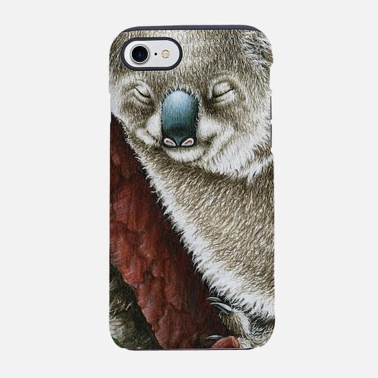 Sleeping Koala iPhone 7 Tough Case