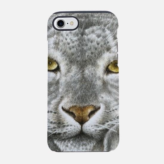 Snow Leopard iPhone 7 Tough Case