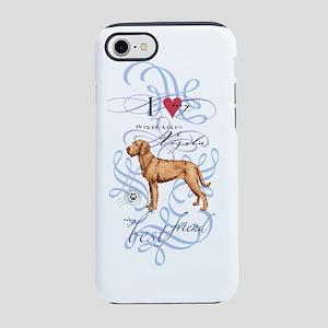 wirehaired vizsla iPhone 7 Tough Case