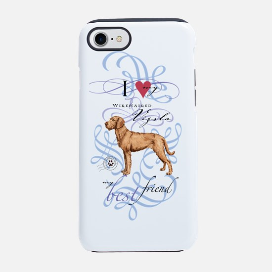 wirehaired vizsla iPhone 7 Tough Case