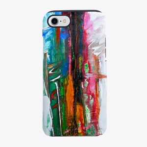 abstract thoughts iPhone 7 Tough Case