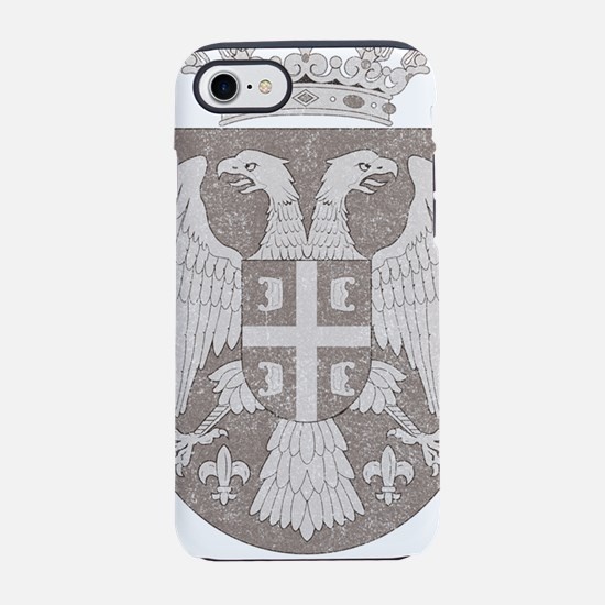 vintageSerbia2.png iPhone 7 Tough Case