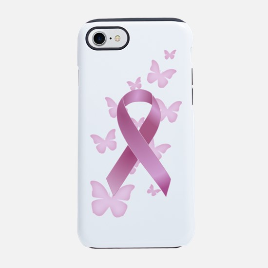 Pink Awareness Ribbon iPhone 7 Tough Case