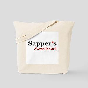 Sapper's Sweetheart Tote Bag