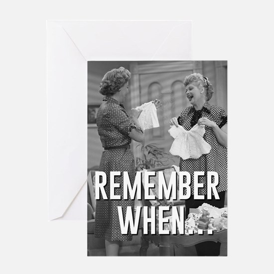 Remember When... Greeting Card