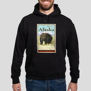 Travel Alaska Hoodie (dark)