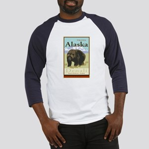 Travel Alaska Baseball Jersey