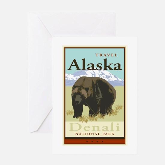 Travel Alaska Greeting Card
