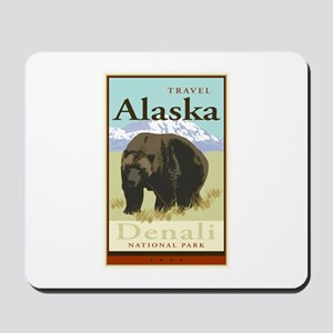 Travel Alaska Mousepad