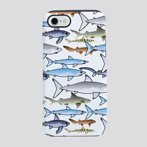 School of Sharks n iPhone 7 Tough Case