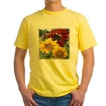 Three sunflowers Yellow T-Shirt