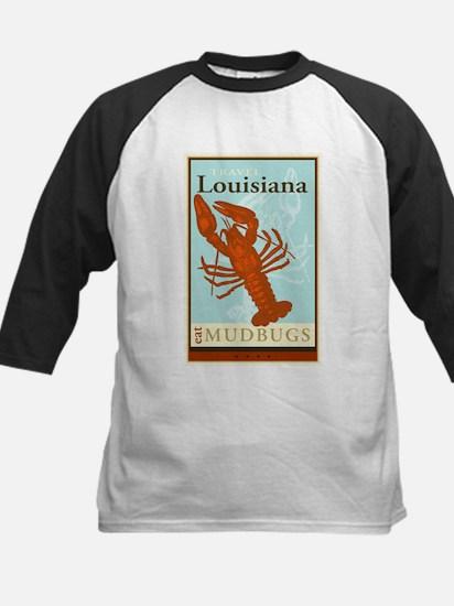 Travel Louisiana Kids Baseball Jersey