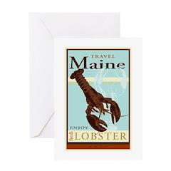 Travel Maine Greeting Card