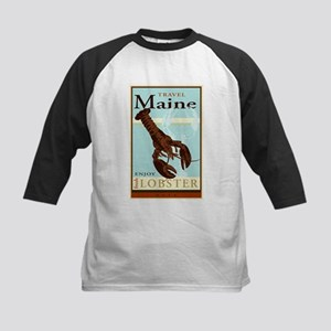 Travel Maine Kids Baseball Jersey
