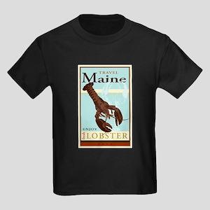 Travel Maine Kids Dark T-Shirt