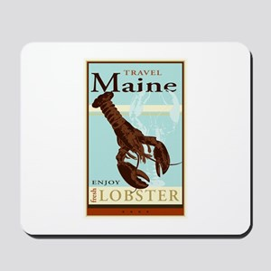 Travel Maine Mousepad