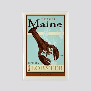 Travel Maine Rectangle Magnet