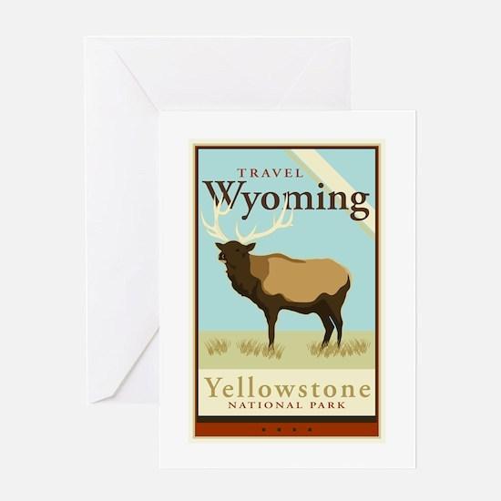 Travel Wyoming Greeting Card