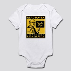 Read Hayek Infant Bodysuit