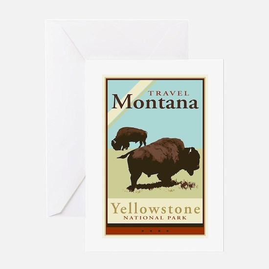 Travel Montana Greeting Card