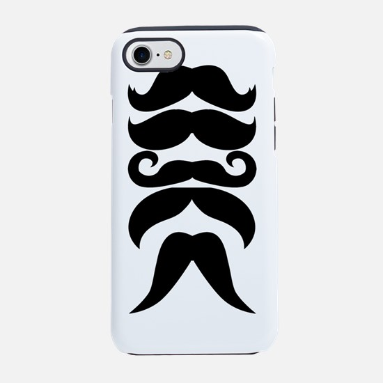 baby stache black iPhone 7 Tough Case