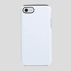 baby stache white iPhone 7 Tough Case