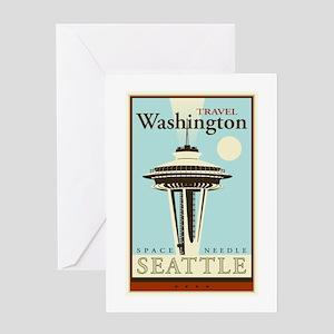 Travel Washington Greeting Card