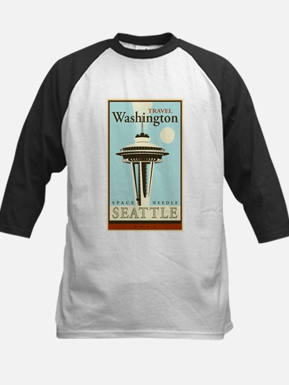 Travel Washington Kids Baseball Jersey