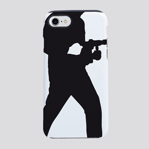 power drill worker iPhone 7 Tough Case