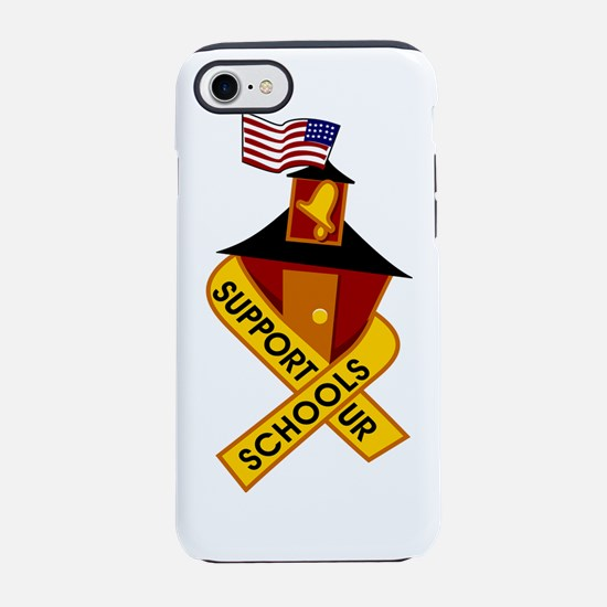 support_schools.png iPhone 7 Tough Case