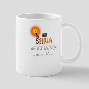 Symbols of Shiva Mug