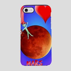 I Love Mars iphone iPhone 7 Tough Case