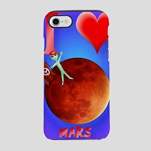 IphonecI Love Mars iPhone 7 Tough Case