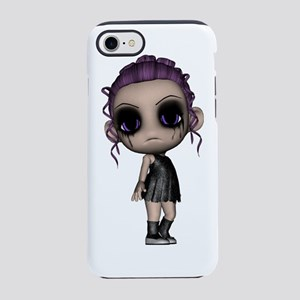 emo goth punk girl iPhone 7 Tough Case