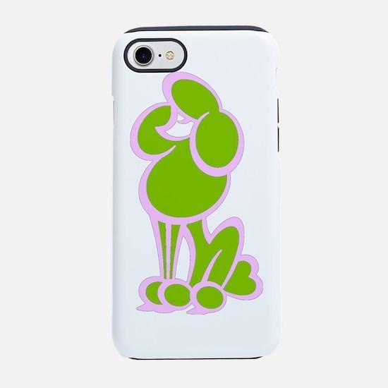 PinkGreen.TIF iPhone 7 Tough Case