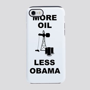 anti obama more oil iPhone 7 Tough Case