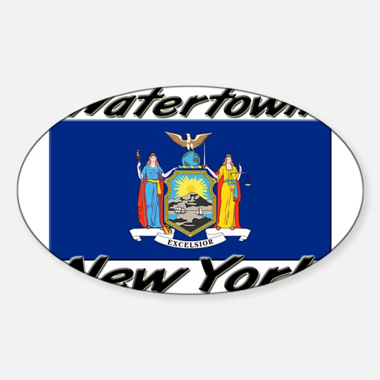 Watertown New York Oval Decal