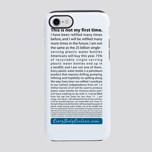 Water Bottle Statement iPhone 7 Tough Case