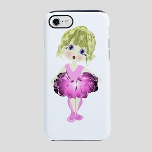 Ballerina in Pink Tutu art iPhone 7 Tough Case