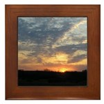 Sunrise 0057 Framed Tile