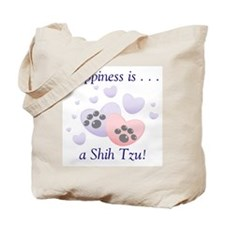 Happiness is...a Shih Tzu Tote Bag