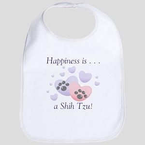 Happiness is...a Shih Tzu Bib