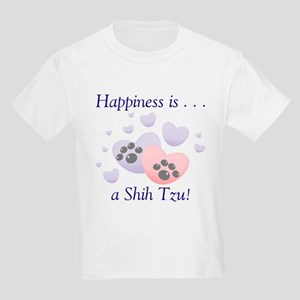 Happiness is...a Shih Tzu Kids T-Shirt