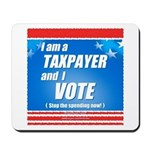 Taxpayer says STOP! Mousepad