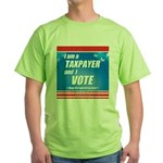 Taxpayer says STOP! Green T-Shirt