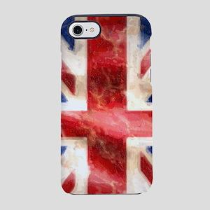 475 Union Jack Flag iPhone 3G  iPhone 7 Tough Case