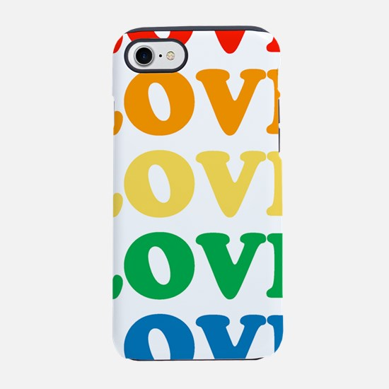 loveloverainbow.png iPhone 7 Tough Case