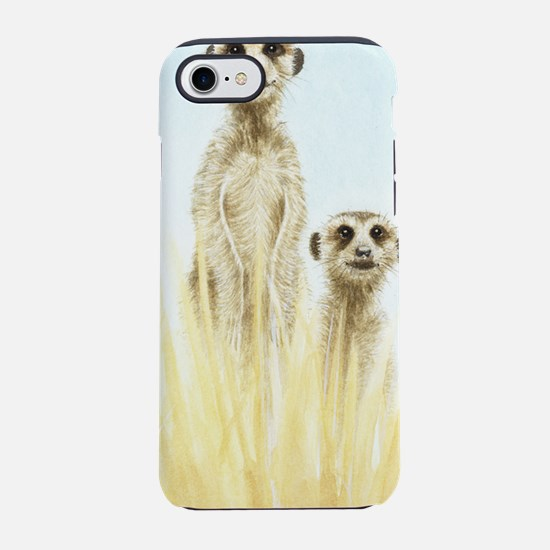 Two Meerkats iPhone 7 Tough Case