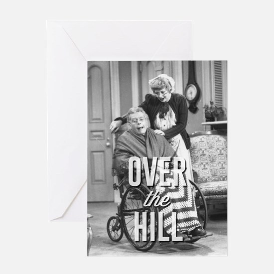 Lucy: Over the Hill Greeting Card