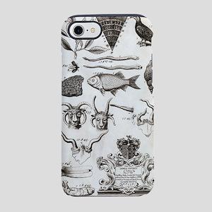 Oxfordshire animals, 18th cent iPhone 7 Tough Case